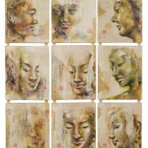 9 Bouddhas