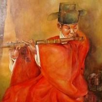 Flûte en bamboo